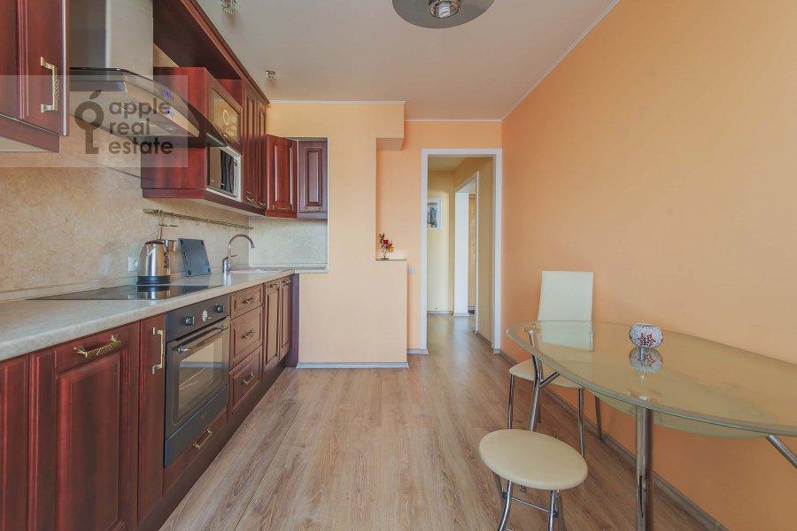 Kitchen of the 1-room apartment at Velozavodskaya ul. 2k3