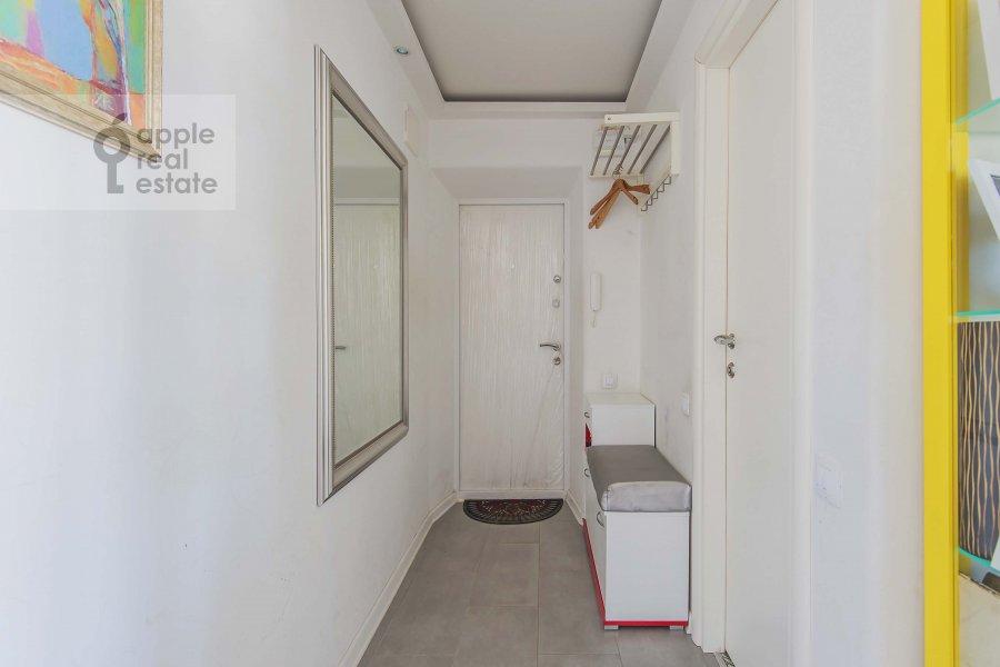 Коридор в 3-комнатной квартире по адресу Комсомольский проспект 19