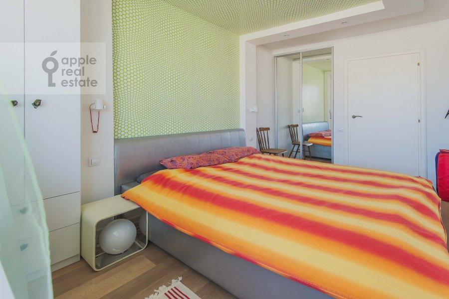 Спальня в 3-комнатной квартире по адресу Комсомольский проспект 19