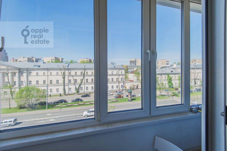Балкон / Терраса / Лоджия в 3-комнатной квартире по адресу Комсомольский проспект 19