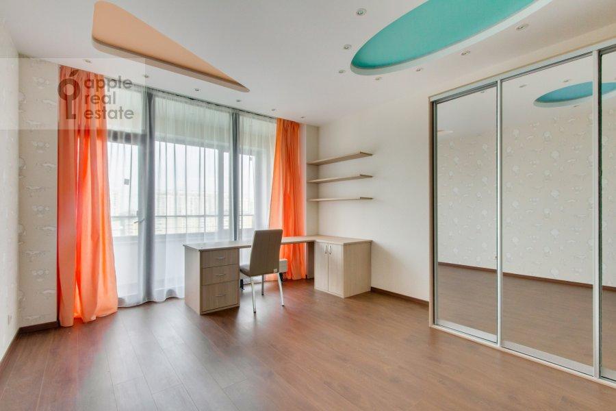 Bedroom of the 4-room apartment at Novoyasenevskiy pr-t 9