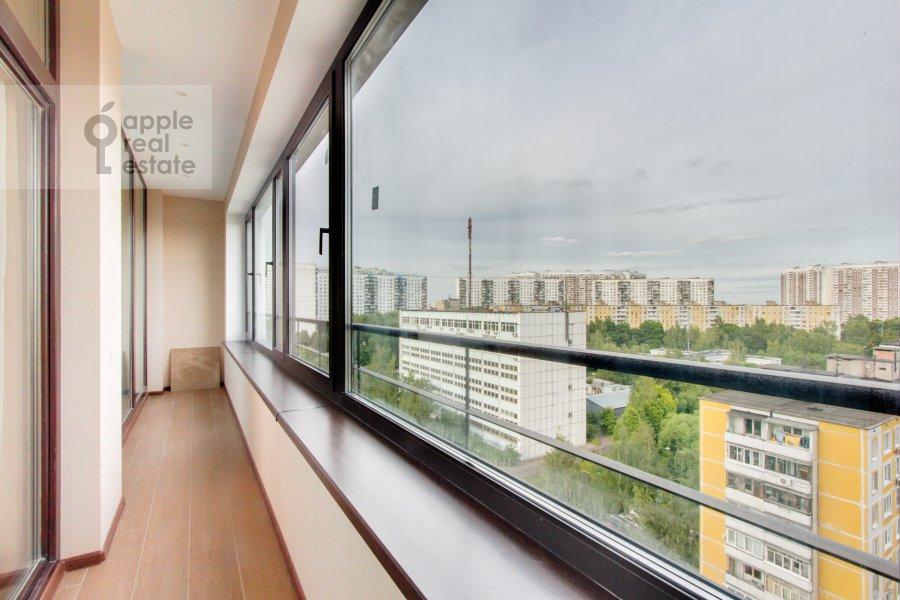 Balcony / Terrace / Loggia of the 4-room apartment at Novoyasenevskiy pr-t 9
