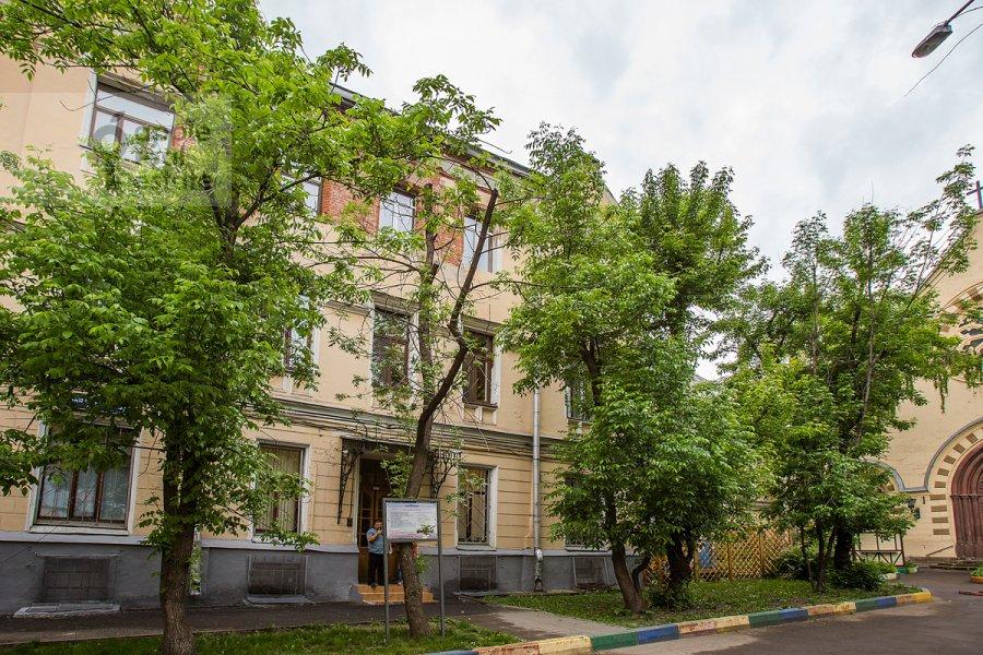 Floor plan of the 4-room apartment at Starosadskiy per. 7/10s8