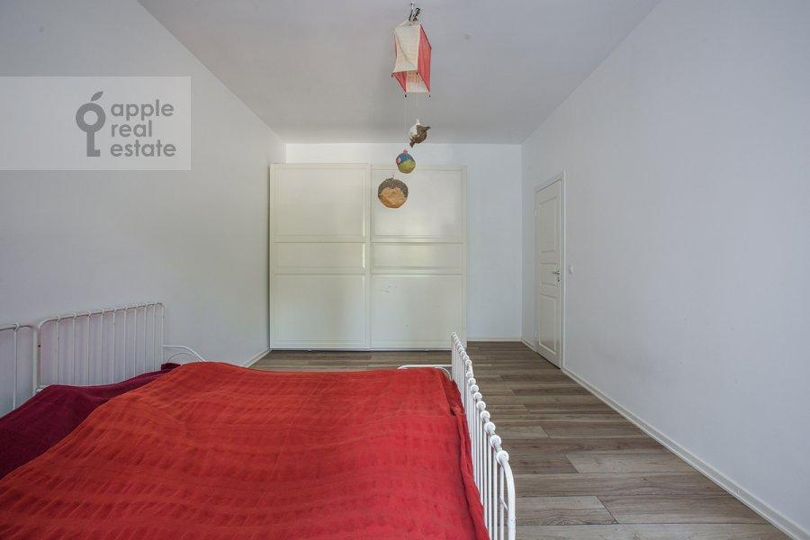 Bedroom of the 3-room apartment at Leninskiy pr-t. 74
