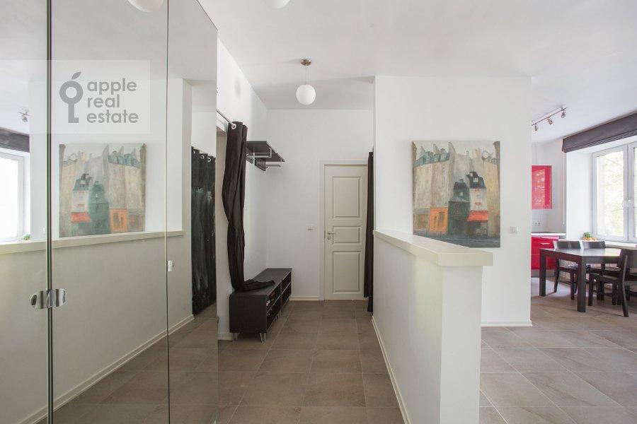 Corridor of the 3-room apartment at Leninskiy pr-t. 74