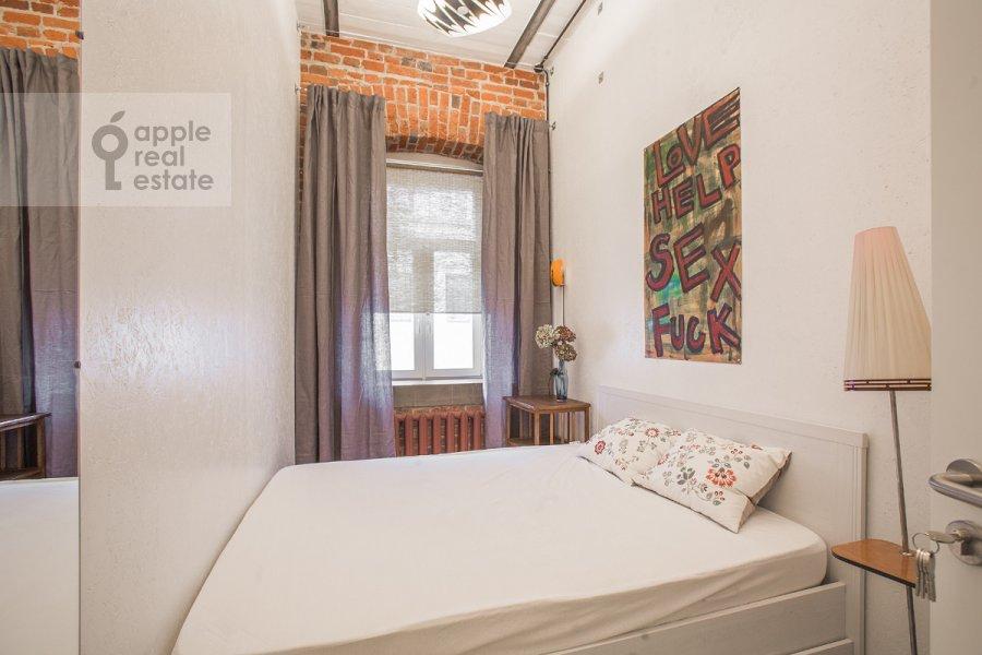 Bedroom of the 4-room apartment at Merzlyakovskiy pereulok 15