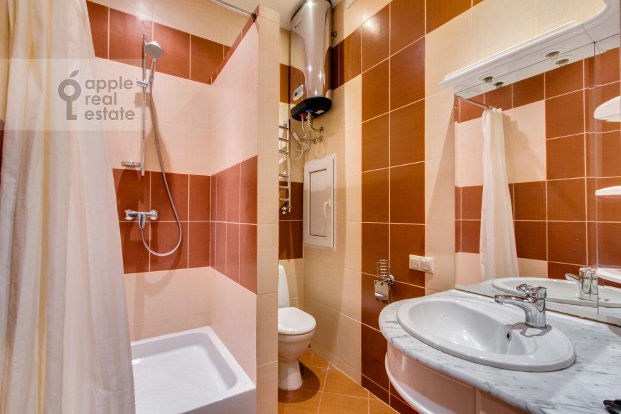 Санузел в 3-комнатной квартире по адресу Ленинский  пр-т. 96