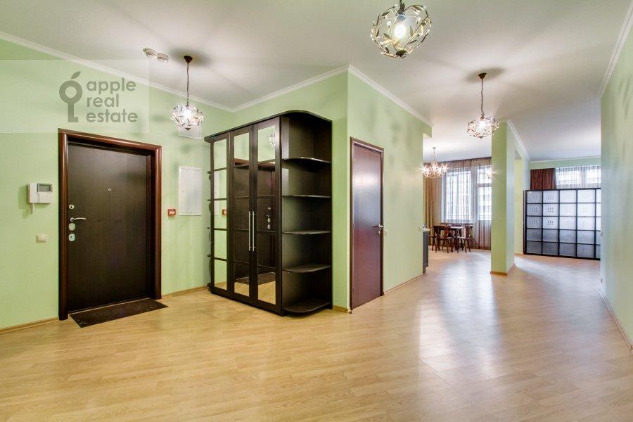 Коридор в 3-комнатной квартире по адресу Ленинский  пр-т. 96