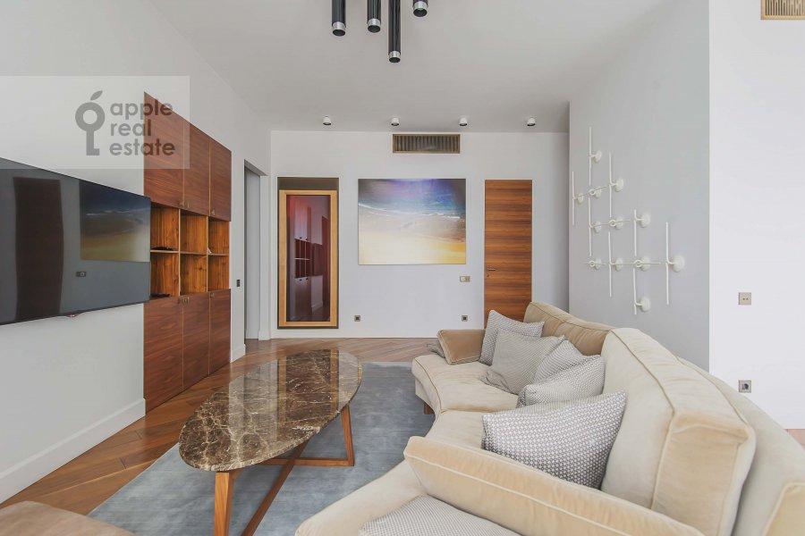 Living room of the 3-room apartment at Profsoyuznaya ulitsa 64k2