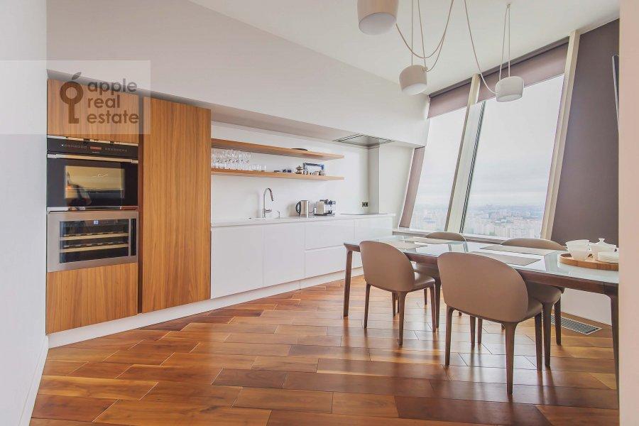 Kitchen of the 3-room apartment at Profsoyuznaya ulitsa 64k2