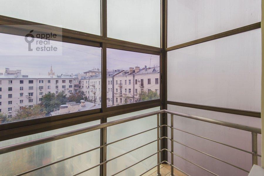 Balcony / Terrace / Loggia of the 4-room apartment at Bronnaya Malaya ul. 25