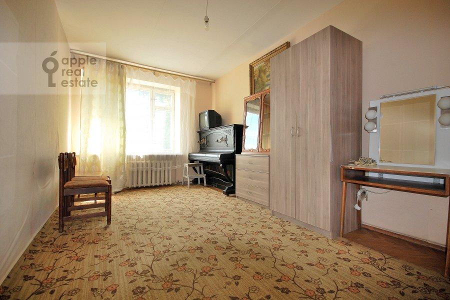 Гостиная в 2-комнатной квартире по адресу Константина Симонова ул. 8