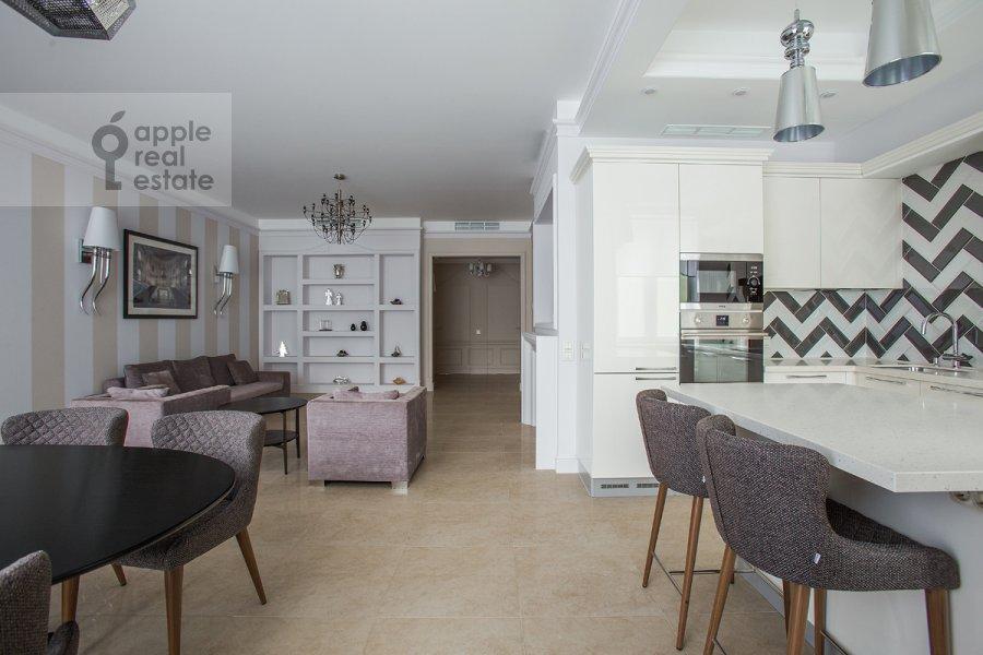 Kitchen of the 3-room apartment at Bogoslovskiy per. 12A