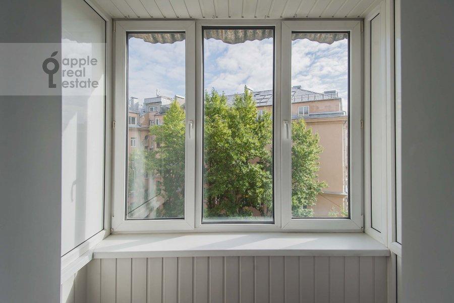 Balcony / Terrace / Loggia of the 3-room apartment at Novinskiy bul'var 28/35s1