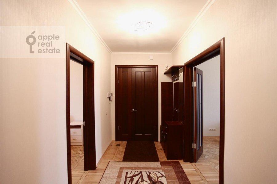 Corridor of the 3-room apartment at Krasnopresnenskaya nab. 2/1